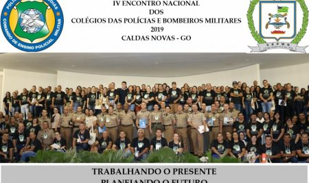 FPM participa do IV Encontro Nacional dos Colégios das Polícias e Bombeiros Militares