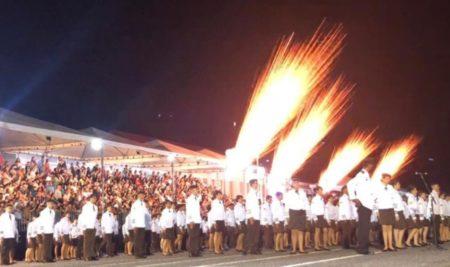 Cerimônia de formatura dos Colégios Militares de Goiânia