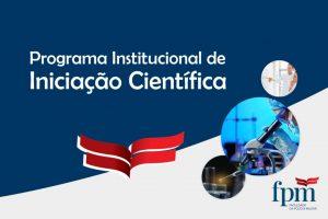 Programa Iniciação Científica – Capa Intranet