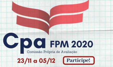 Comissão Própria de Avaliação (CPA) da FPM Realizará Autoavaliação Institucional
